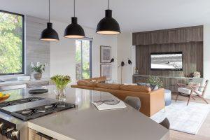 New Construction - Palo Alto Living Room